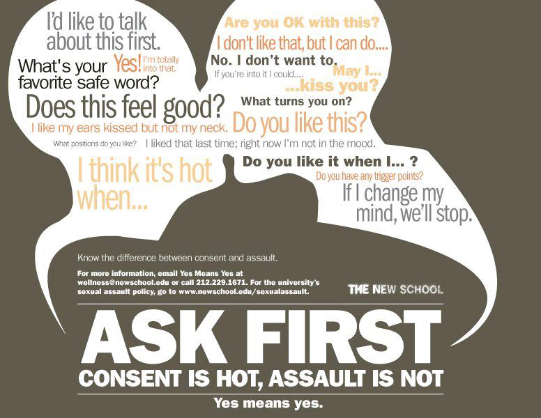 What is consent in sex